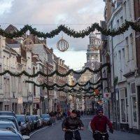 На улицах Маастрихта в Рождество, Голландия :: Witalij Loewin