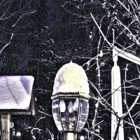 Фонарь под  снегом :: Александр Сальтевский