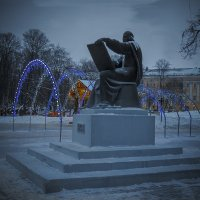 На Соборной зимой :: Сергей Цветков
