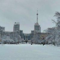 Зима в городе! :: ВАСИЛИЙ ГРИГОРЬЕВИЧ К.