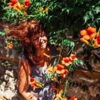 Ветер летний волосы поднял :: Мария Корнилова