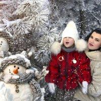 Снежная зима... :: Райская птица Бородина