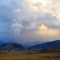 Непогода в горах :: GalLinna Ерошенко