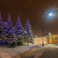 Ночь, фонарь...... :: Леонид Соболев