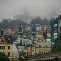 Туманное утро :: Евгений Кривошеев