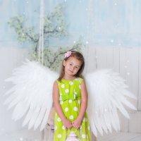 Гороховый ангел!) :: Ольга Егорова