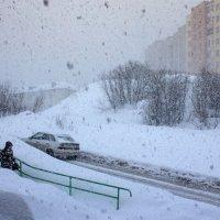 """Серия """" А снег идёт..."""" :: Ольга Лиманская"""