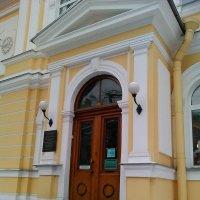 Железнодорожный музей. Парадный вход. (Санкт-Петербург). :: Светлана Калмыкова