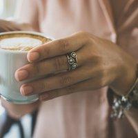 Кофе в кафе.... :: Svetlana SSD Zhelezkina