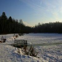 мороз,солнце,купальня :: Олег Лукьянов