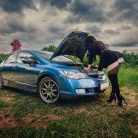 Саша и Хонда :: Андрей wooteed