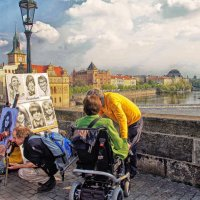 Карлов мост.Прага. :: Лара ***