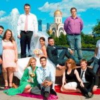 на поклонной горе с гостями :: Егор Чеботаренко