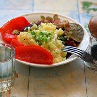 Разыгрался аппетит после ледяной купели.. :: Андрей Заломленков