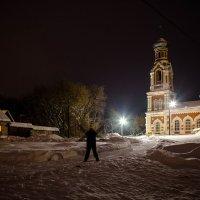 Мой дом и Храм в Самылово. :: Валерий Гудков