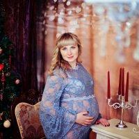 Фотосъемка беременности в студии :: марина алексеева