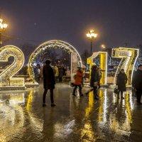 Новый год на Пушкинской :: Лариса Батурова