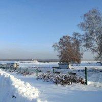 Зима в день праздника Крещение Господне . :: Мила Бовкун