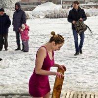 в ледяную купель :: юрий иванов