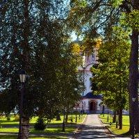 Валдайский Иверский Богородицкий Святоозерский мужской монастырь в Валдае :: Александр Генрихович Завьялов