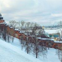 В Нижегородском Кремле зимой :: Ирина Лепнёва