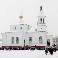 Праздник Крещение Господне. :: Андрей Буховецкий
