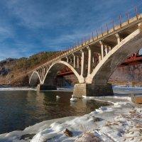 Мост через реку Половинная :: Анатолий Иргл