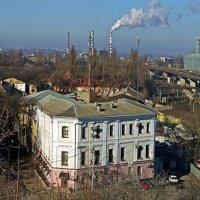 урбанистический вид на Пересыпь :: Александр Корчемный