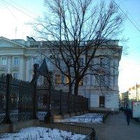 Вид на сад Сан-Галли. (Санкт-Петербург). :: Светлана Калмыкова