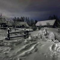 Лунная соната ...в исполнении сугробов... :: Sergey-Nik-Melnik Fotosfera-Minsk
