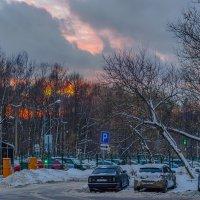 Пожар январского заката :: Игорь Герман