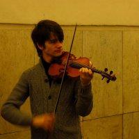 Несет музыку народу :: Андрей Лукьянов