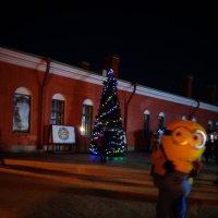 Новый год продолжаеться! (Петропавловская крепость). :: Светлана Калмыкова