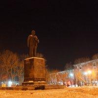 Площадь им.Ленина Комсомольск-на-Амуре! :: Ирина Антоновна