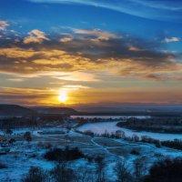 Закат на Иркуте :: Анатолий Иргл