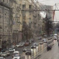 Буденновский в дождь :: Николай Семёнов