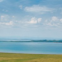 Соленое озеро Белё, Хакасия. :: Александр Денисюк