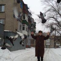 Зима. Что делать молодёжи в деревне? А пенсионерам - в городе? :: Алекс Аро Аро
