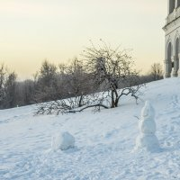 Одинокие снеговик :: Игорь Герман