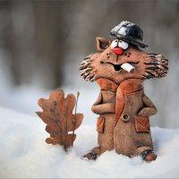 Зима, однако... :: Александр Назаров