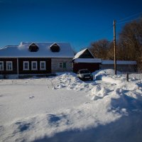 Мой дом в Самылово. :: Валерий Гудков