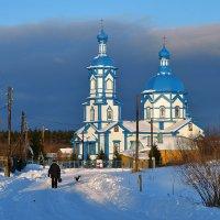 Зимний вечер в Царевке :: Сергей