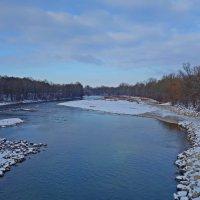 Зимняя река... :: Galina Dzubina