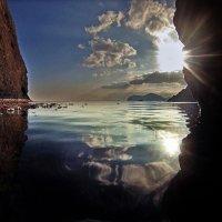 зеркальный покой на закате :: viton