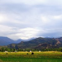 Киргизский хребет Тянь-Шаня :: GalLinna Ерошенко