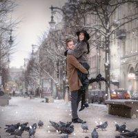 Кино. Город для двоих. :: Юлия Масликова