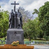 Москва . Памятник Кириллу и Мефодию. :: В и т а л и й .... Л а б з о'в
