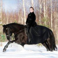 Анна и Флика :: Кристина Плавская