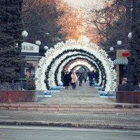 Зима в Ростове-на-Дону :: Сергей Кокотчиков