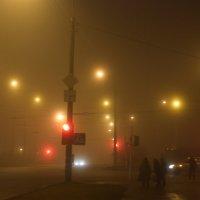 Город в тумане :: Николай Н